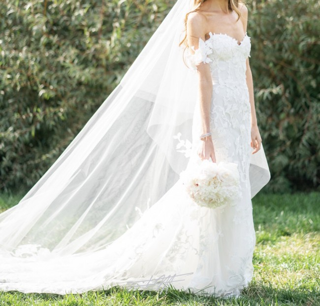 Monique Lhuillier, Custom Made Willow Gown