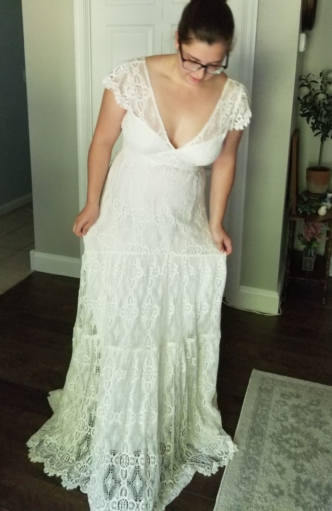 Kite and Butterfly Willow Dress Boho Lace Wedding Dress