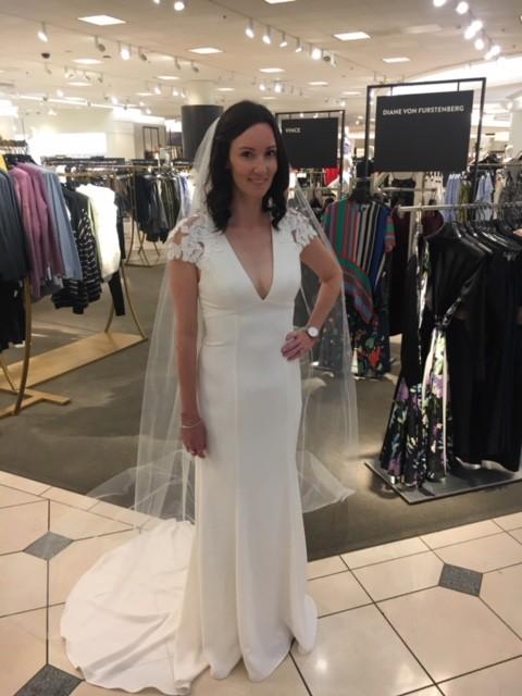Amsale, Amanda Mermaid Gown