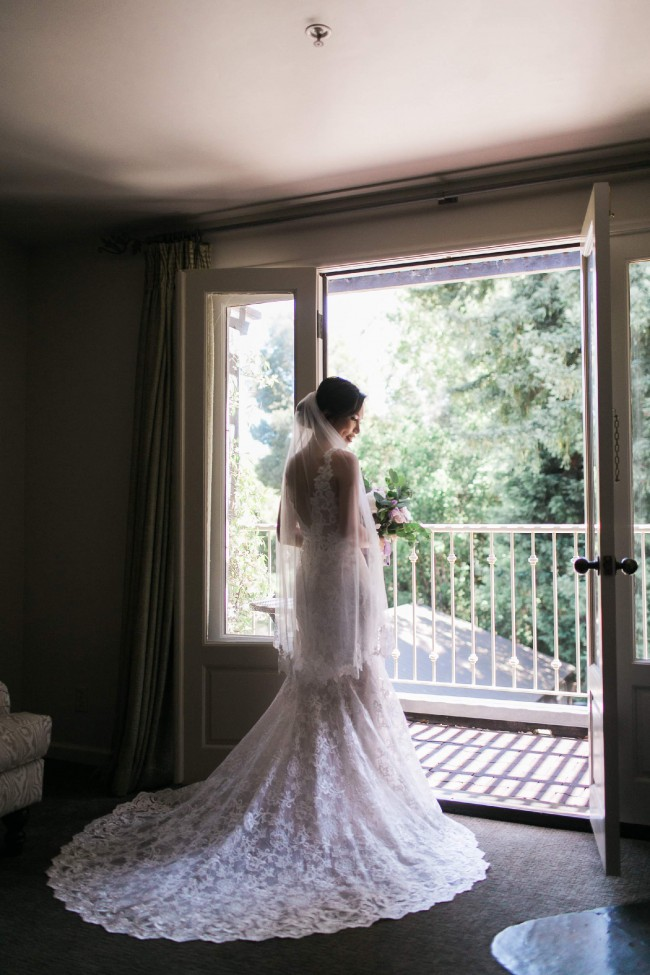 Eddy K Toulouse Gown - include matching veil