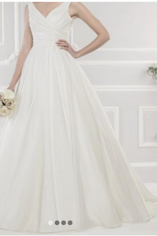 Ellis Bridal Luxury organza ball gown style 11427