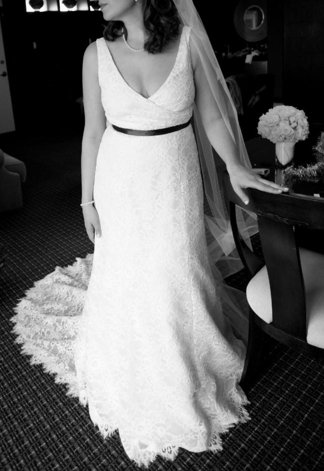 J Crew, J.Crew Ivory Sara Lace Gown 94389 Feminine Wedding