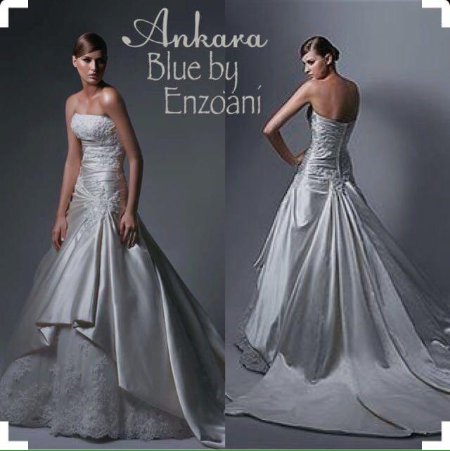 Vintage Wedding Dresses For Sale South Africa: Enzoani Ankara (Blue By Enzoani) New Wedding Dress On Sale