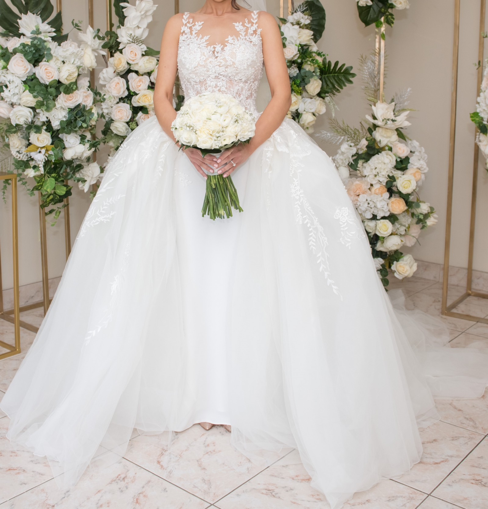 Second Hand Wedding Gown: Demetrios Second Hand Wedding Dress On Sale 57% Off