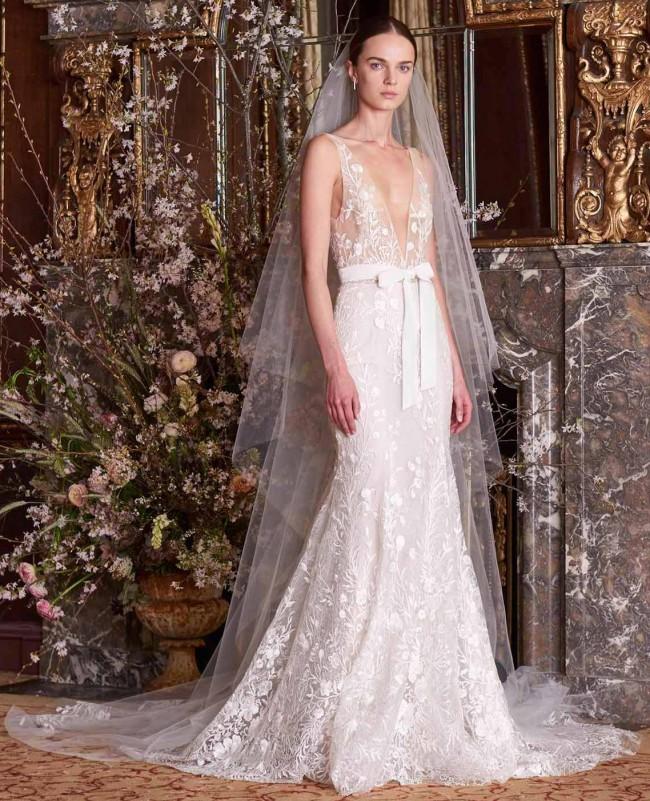 Monique Lhuillier Etoile Dress - with custom alterations