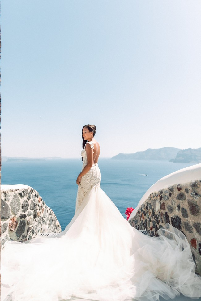 Galia Lahav Summer Bella with the 'Desiree style' Detachable T
