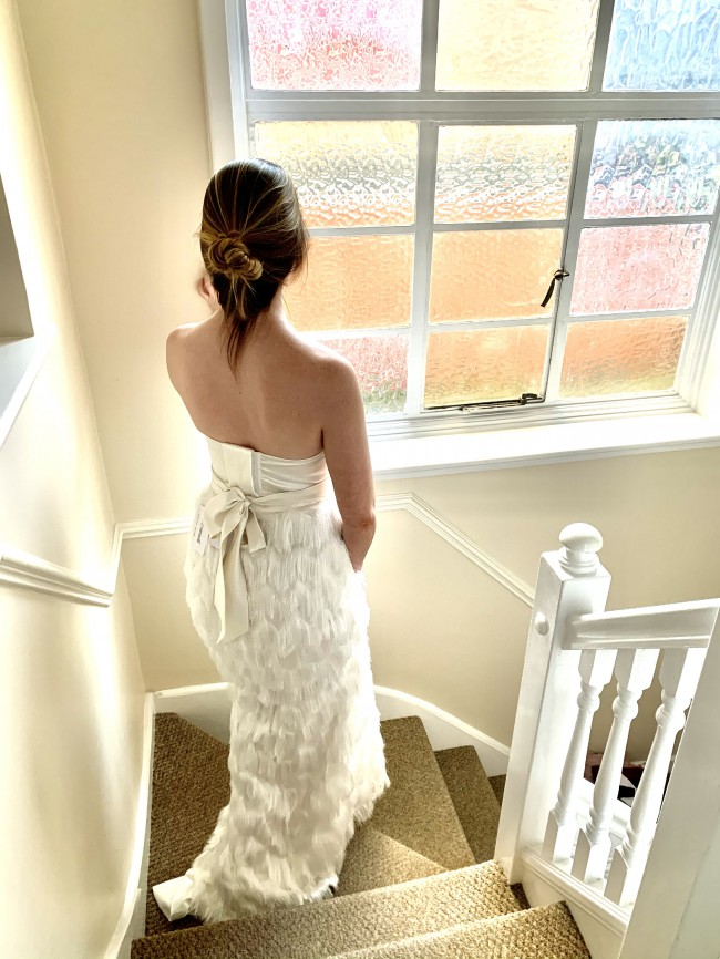 Halfpenny London Breeze Corset, Ivy Skirt, Duchess sash
