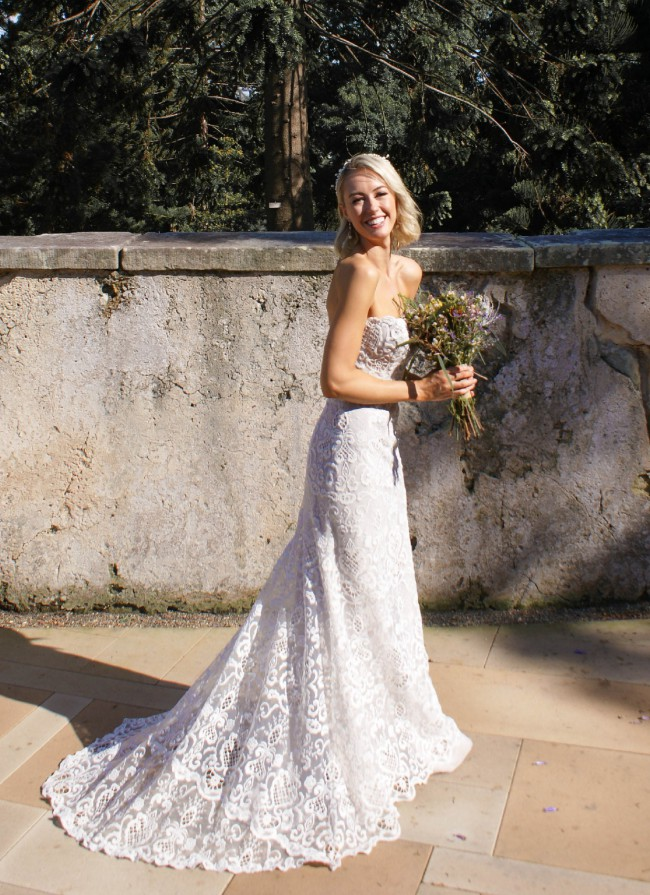 Jane Hill Violette Gown