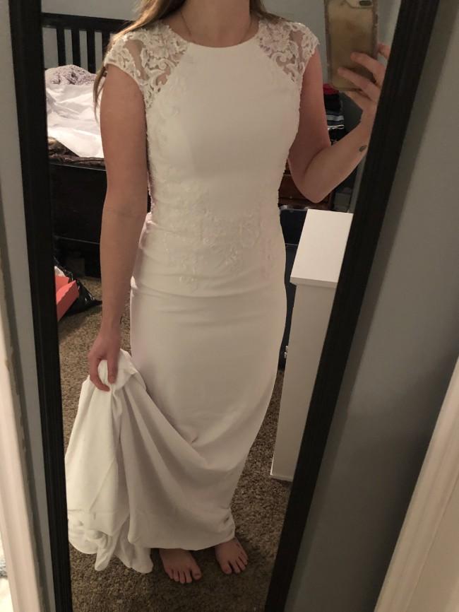 David's Bridal WG3939