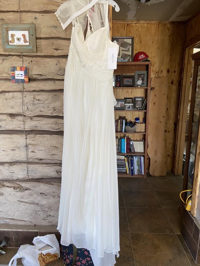 David's Bridal WG3856