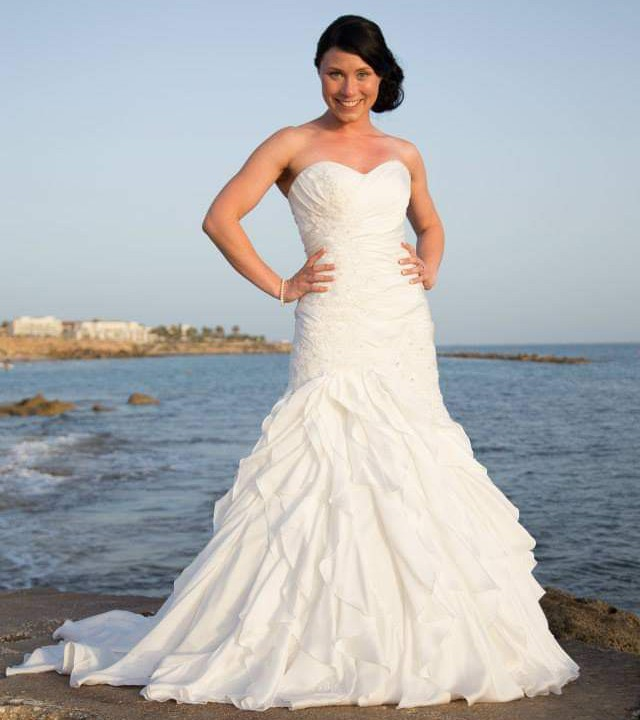 Stella York Custom Made - altered and dress is now bespoke.