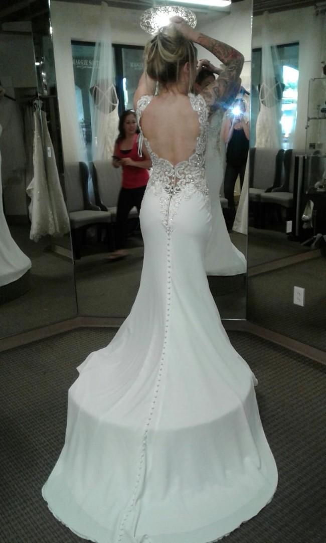 Allure Bridals 9417 Sheer Illusions