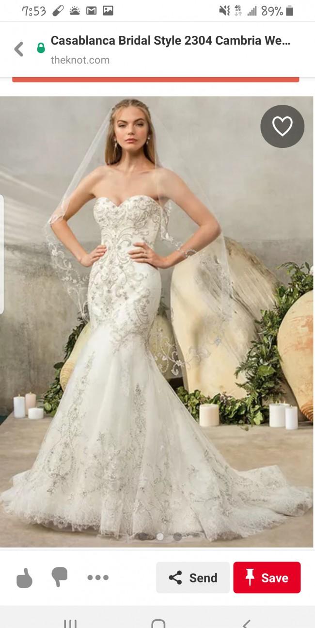 Casablanca Bridal Style 2304 Cambria