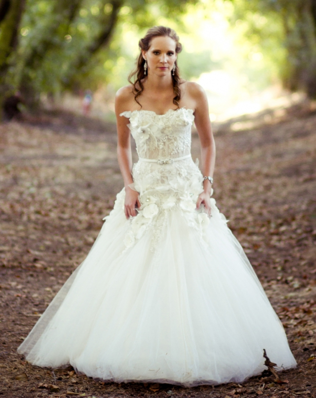 Kobus Dippenaar, Anna Georgina Couture Bridal Collection - Flora