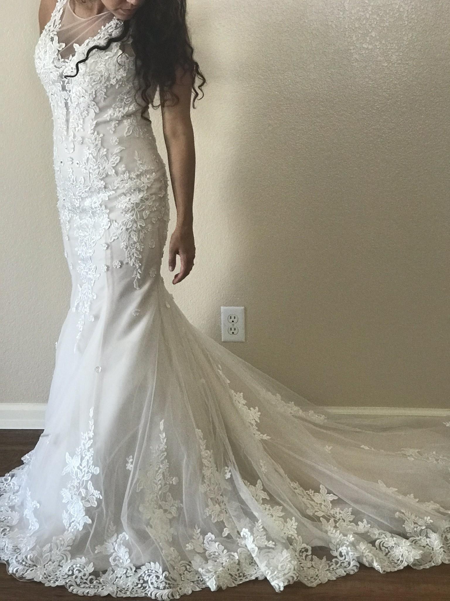 Elizabeth K Bridal New Wedding Dress Save 20   Stillwhite