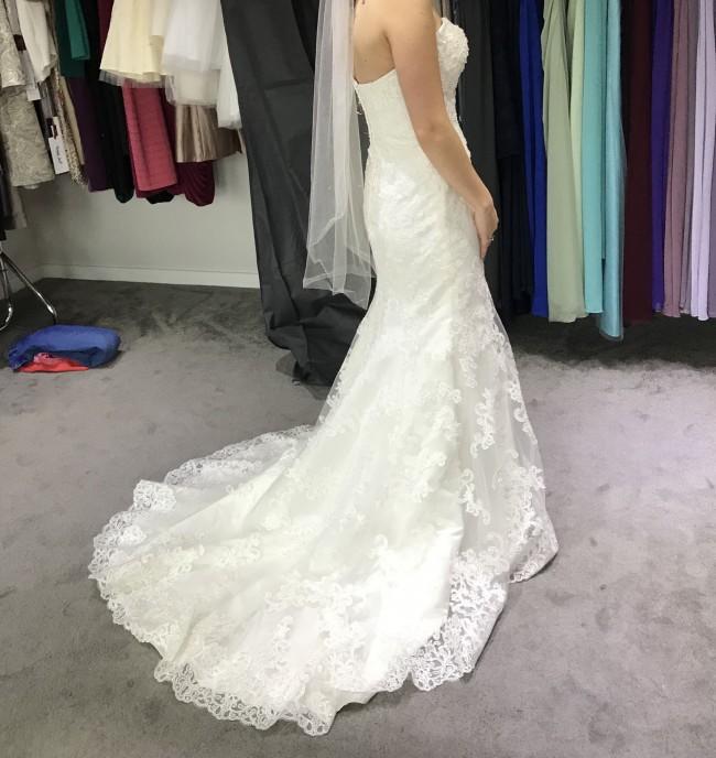 Grandjour Designer sweetheart wedding dress