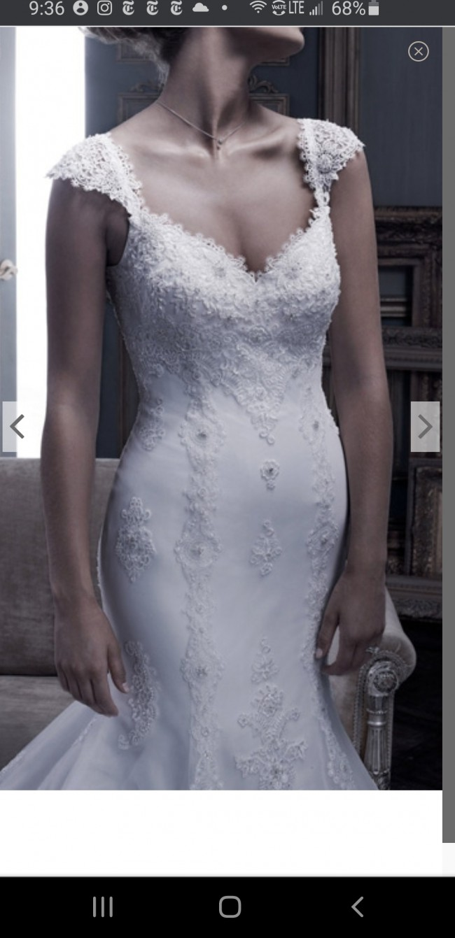 Casablanca Bridal B053