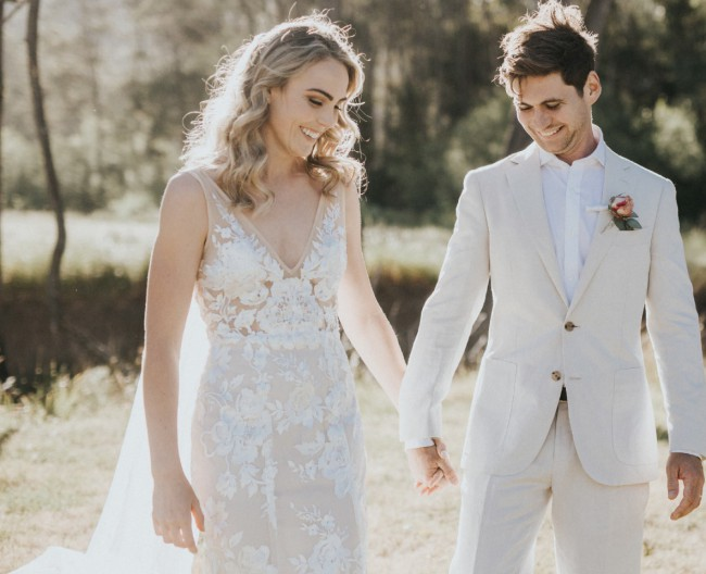 Made With Love Stevie Gown and Holly Veil