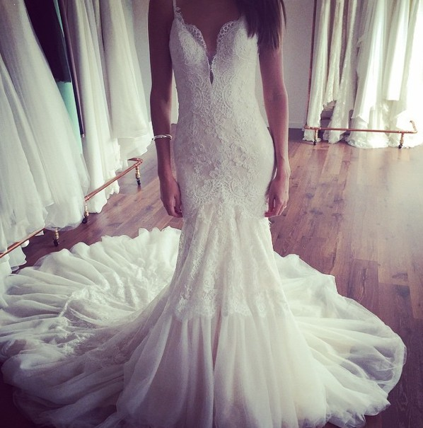 Second Hand Wedding Gown: Made With Love Asha Second Hand Wedding Dress On Sale 40