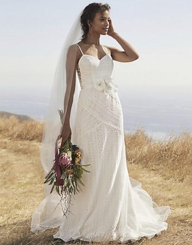 David's Bridal Collection Galina Collection