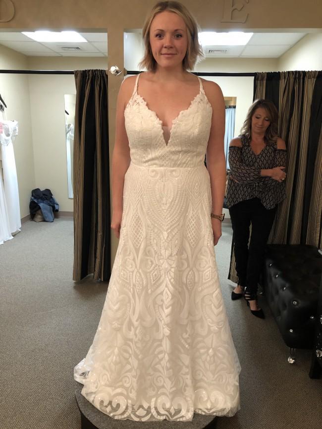 Hayley Paige Blush - Delta Gown