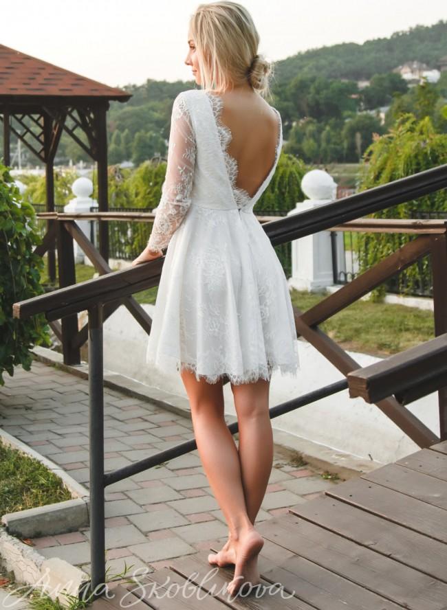 Anna Skoblikova, Summer Wedding Dress 0027/2 2019