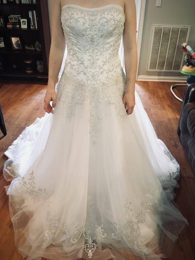 David's Bridal WG9927