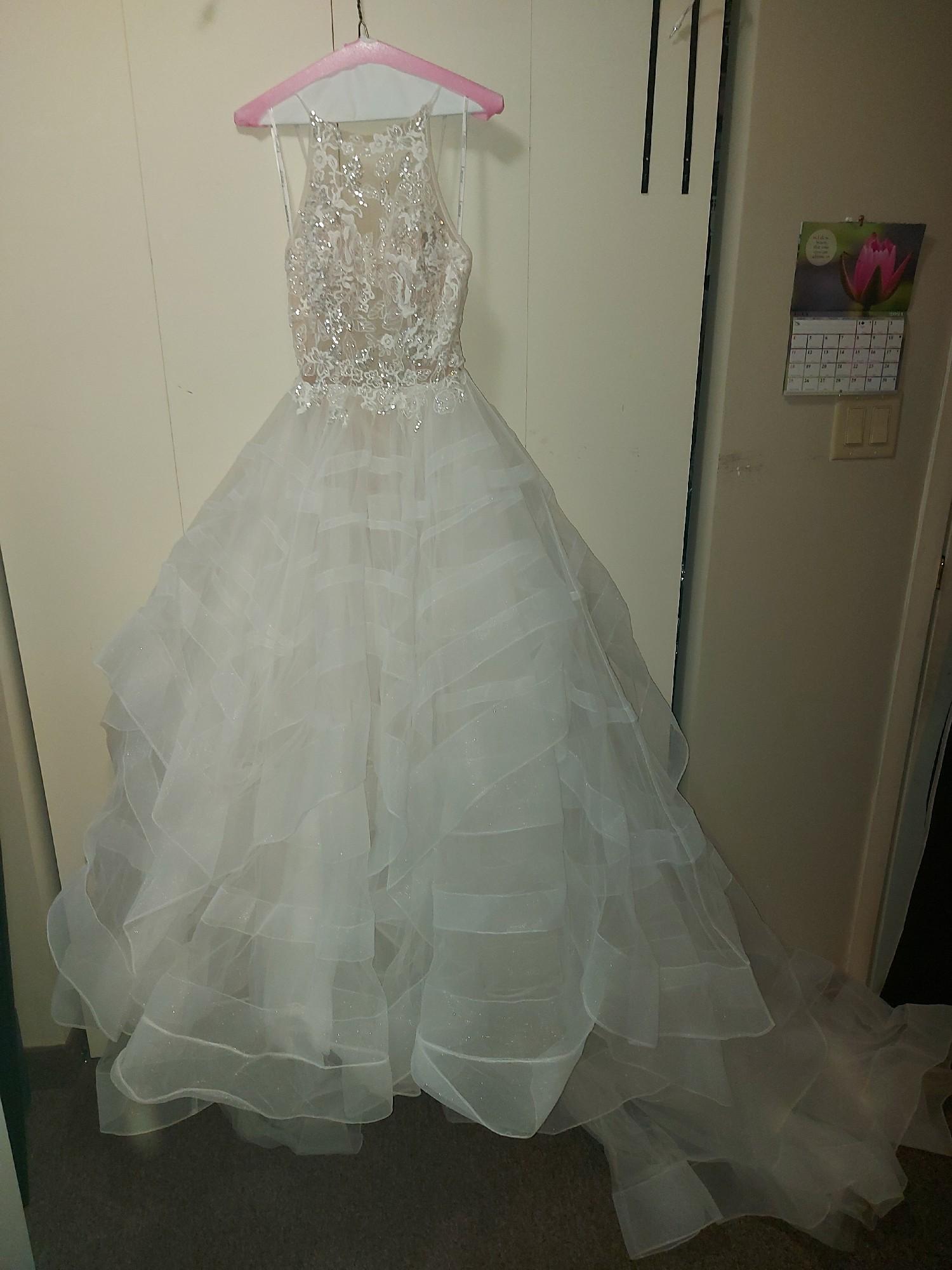 Pronovias Holm Used Wedding Dress Save 62% - Stillwhite