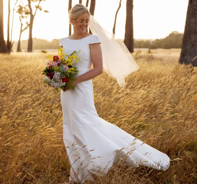 Karen Willis Holmes Harper top/Alexia skirt Bespoke collection