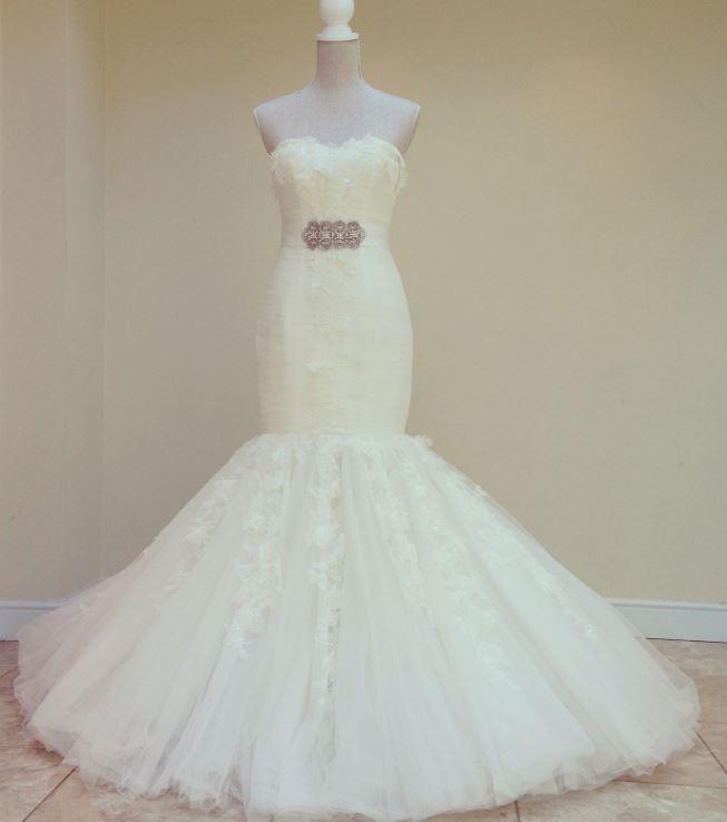 Pronovias Pisces Second Hand Wedding Dress On Sale 92% Off