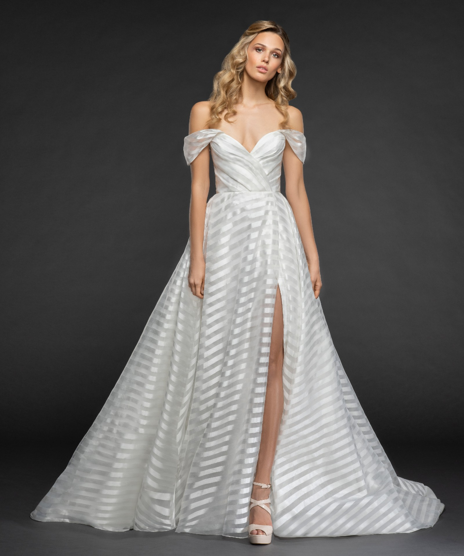 hayley paige *final markdown* harley style #6852 wedding dress on sale -  69% off