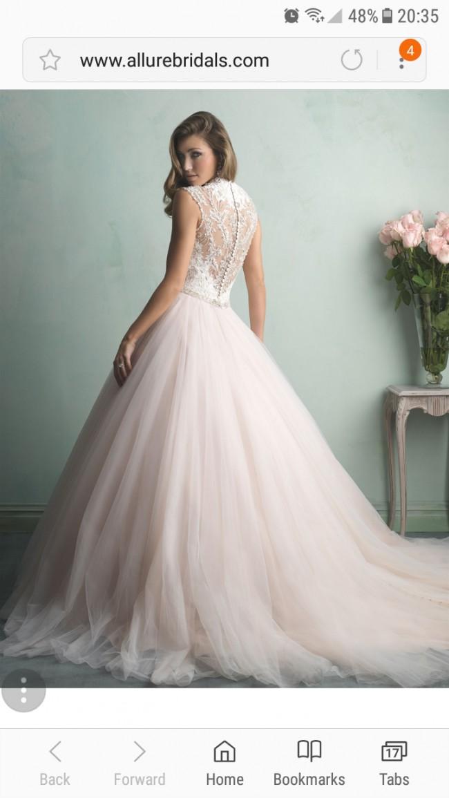 Allure Champagne Dress