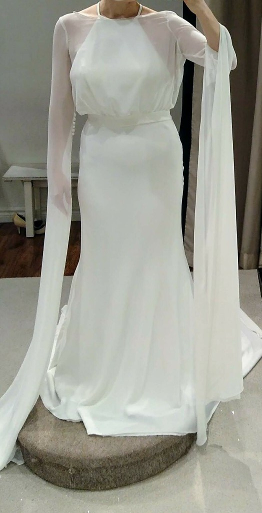 Pronovias, Mallorca *Chiffon Top Only NOT Dress*