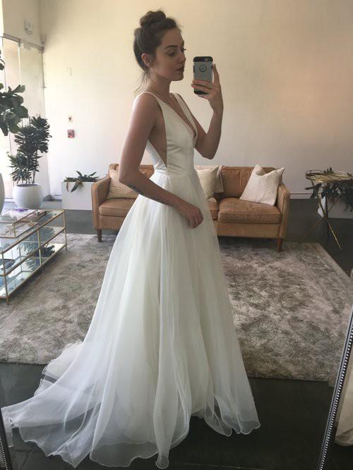 Sarah Seven Lorelei New Wedding Dress on