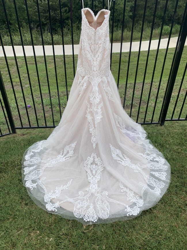Maggie Sottero 9SW851 Ivory Over Blush