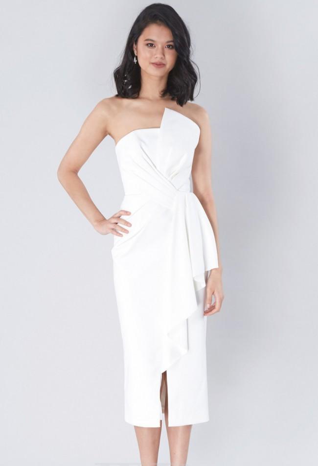 White Runway, Stellina Midi Dress