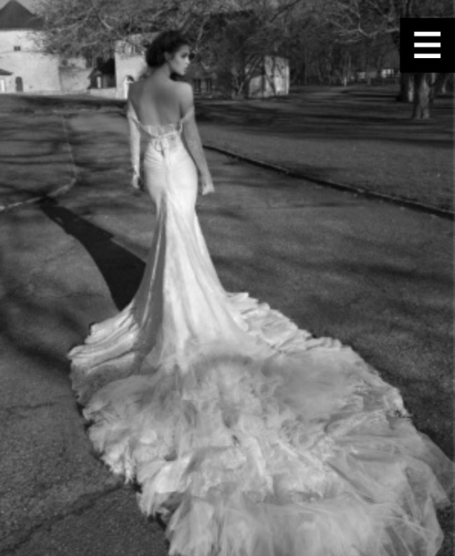 Inbal Dror Wedding Gowns For Sale: Inbal Dror BR-13-23 Second Hand Wedding Dress On Sale 86
