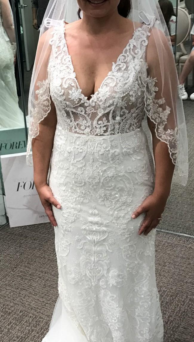 David's Bridal SWG772