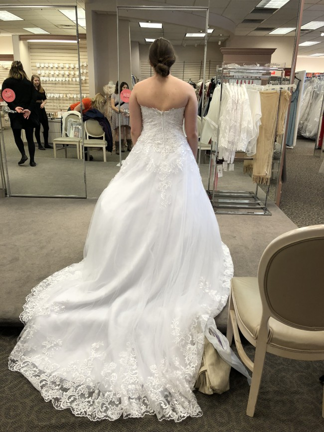 David's Bridal, Ball Gown