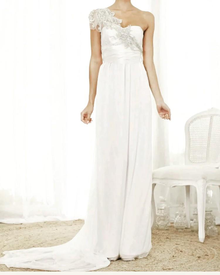 Anna Campbell Wedding Gowns: Anna Campbell Grace Second Hand Wedding Dress On Sale 68