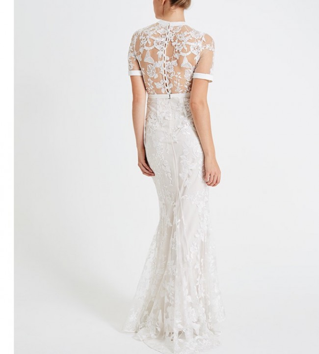 befcd845ecb Phase Eight Poppy embroidered bridal dress Used Wedding Dress on ...