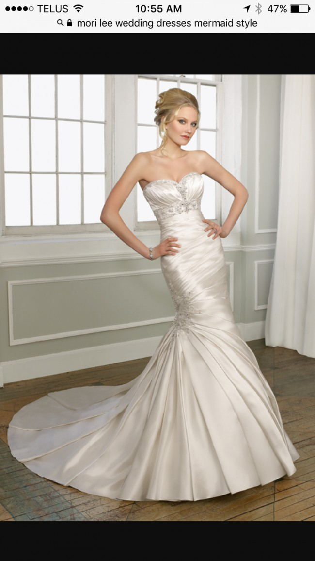 bdcdd9ab484a Morilee 1653 Second Hand Wedding Dress on Sale - Stillwhite United ...