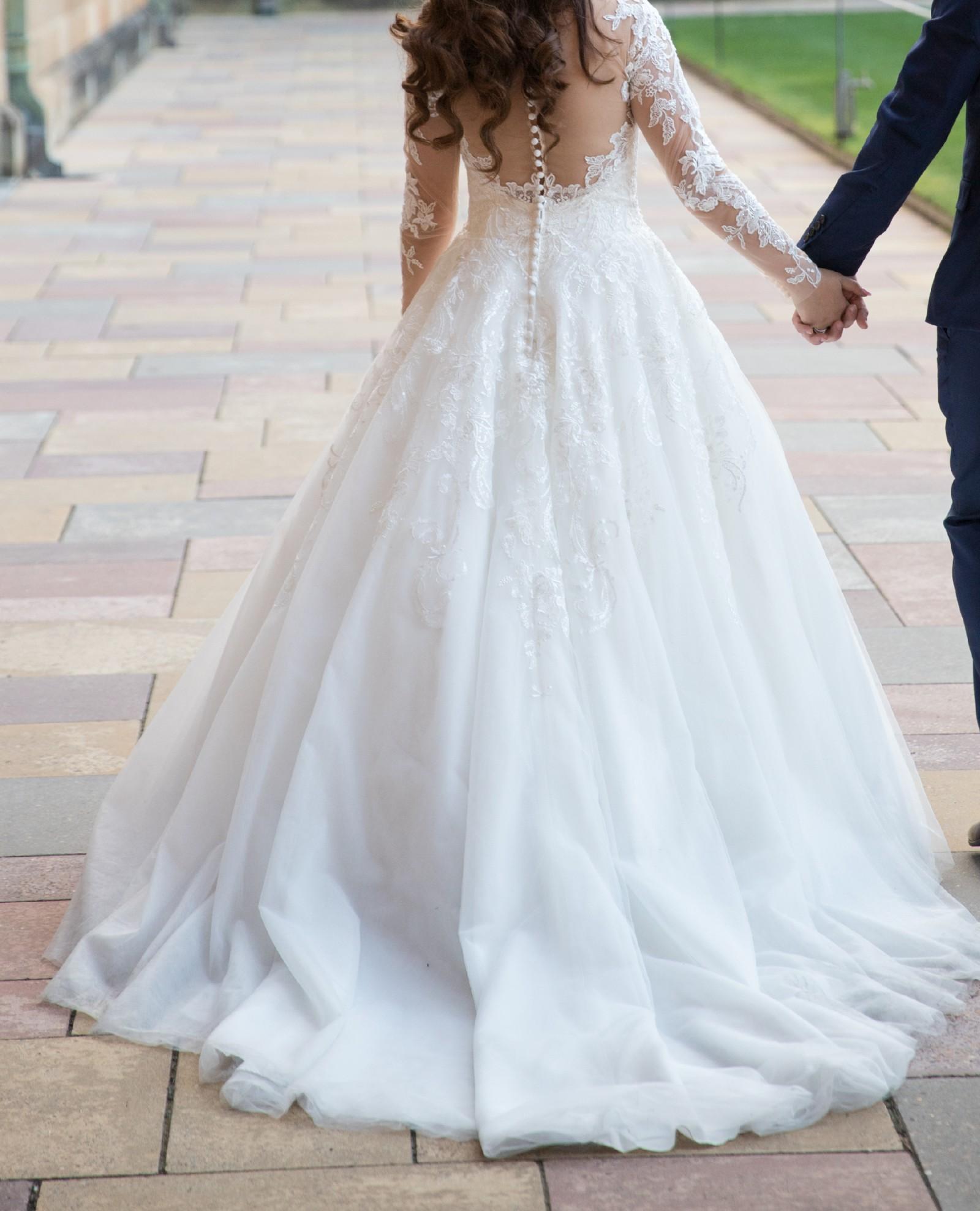 737e8564402 Allure Romance 3059 Second Hand Wedding Dress on Sale 54% Off - Stillwhite  United Kingdom