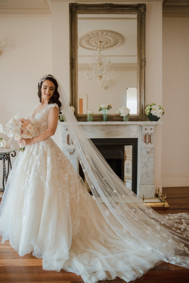 862756ac9fc7 Nicole Spose NIAB17092 Used Wedding Dress on Sale 51% Off ...