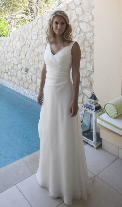 low priced 52994 c970a Le Spose Di Gio Custom Made Wedding Dress On Sale - 71% Off