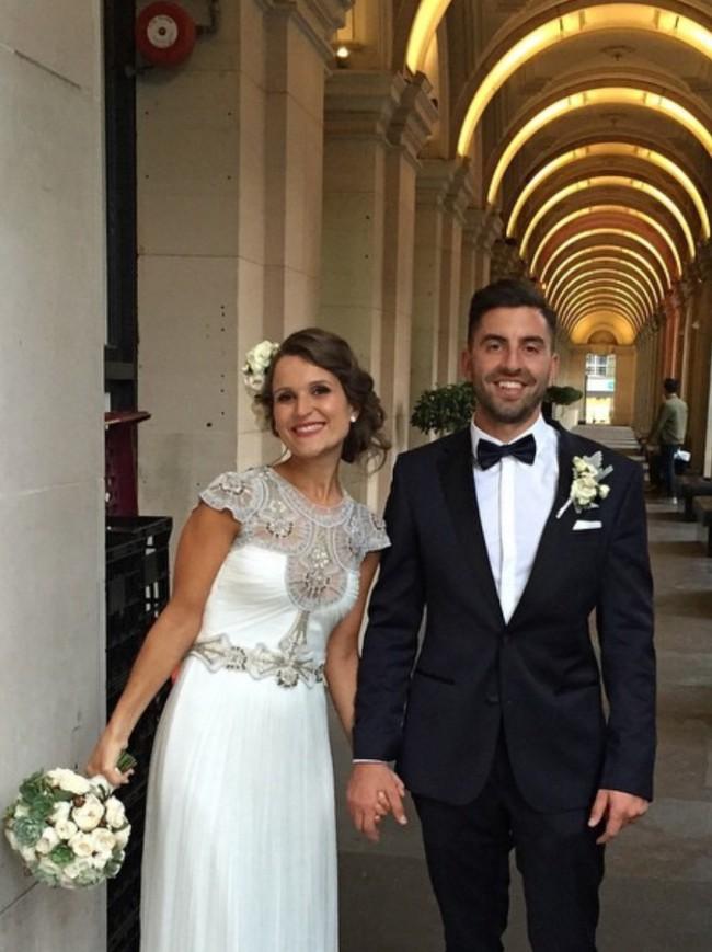 Gwendolynne Hope wedding dress