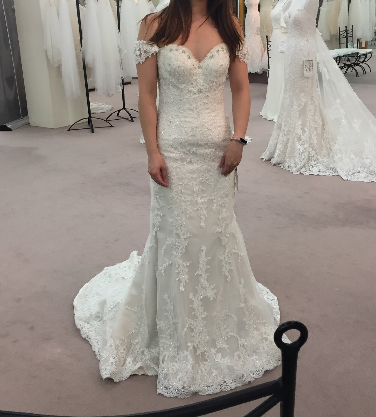 Maggie Sottero Preowned Wedding Dress On Sale 64% Off