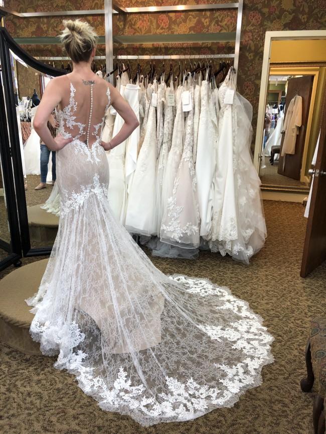 Casablanca Bridal Selena C136