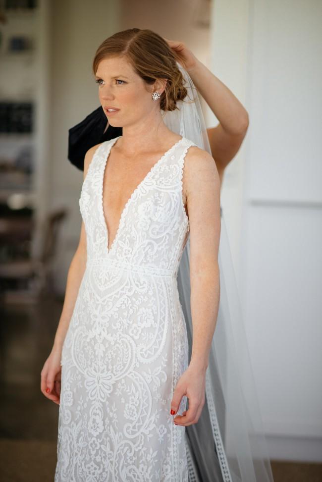 Suzanne Harward, Nightingale dress and veil