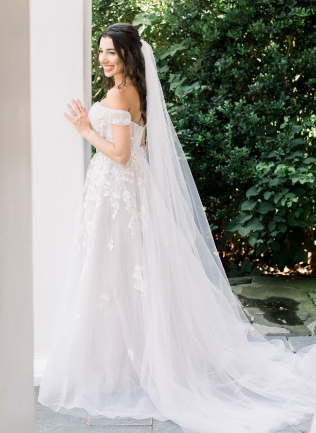 Galina Signature Floral Tulle SWG834